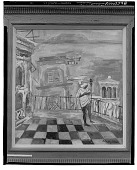 view Terrace on Via Pontano [painting] / (photographed by Walter Rosenblum) digital asset number 1