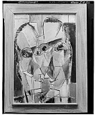 view Abstract Heads [painting] / (photographed by Walter Rosenblum) digital asset number 1
