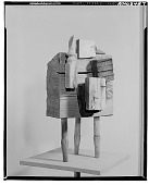 view Assemblage with Three Legs [sculpture] / (photographed by Walter Rosenblum) digital asset number 1