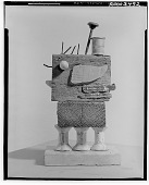 view Assemblage with Thread Spools [sculpture] / (photographed by Walter Rosenblum) digital asset number 1