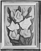 view Roses [painting] / (photographed by Walter Rosenblum) digital asset number 1