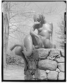 view Mythological Gatepost [sculpture] / (photographed by Walter Rosenblum) digital asset number 1