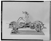 view No Title Given: Motorcycle [sculpture] / (photographed by Walter Rosenblum) digital asset number 1