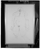 view No Title Given: Nude Male Figure [graphic arts] / (photographed by Walter Rosenblum) digital asset number 1