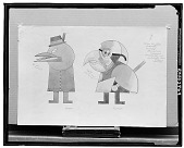 view Cuckoo and Parrot [drawing] / (photographed by Walter Rosenblum) digital asset number 1