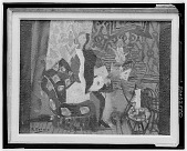 view Interior Scene with Female Figure, [art work] / (photographed by Walter Rosenblum) digital asset number 1