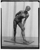 view Dancer in the Role of Harlequin [sculpture] / (photographed by Walter Rosenblum) digital asset number 1