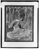 view Man Playing a Flute [art work] / (photographed by Walter Rosenblum) digital asset number 1