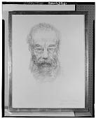 view Portrait Dr. Heinrich Braun [drawing] / (photographed by Walter Rosenblum) digital asset number 1