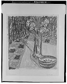 view Still Life with Flowers and Bowl [graphic arts] / (photographed by Walter Rosenblum) digital asset number 1