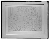 view Nude and Parrot Cage [graphic arts] / (photographed by Walter Rosenblum) digital asset number 1