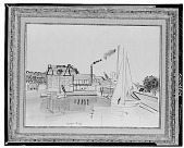 view Boats in Harbor [painting] / (photographed by Walter Rosenblum) digital asset number 1