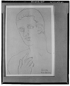 view Classical Portrait [drawing] / (photographed by Walter Rosenblum) digital asset number 1