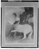 view Centaur Reading a Book [drawing] / (photographed by Walter Rosenblum) digital asset number 1