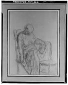 view Despair [drawing] / (photographed by Walter Rosenblum) digital asset number 1