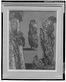 view Arbre et deux personnages [painting] / (photographed by Walter Rosenblum) digital asset number 1