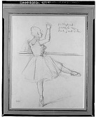 view Ballerina [drawing] / (photographed by Walter Rosenblum) digital asset number 1