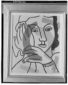 view Portrait of a Woman [painting] / (photographed by Walter Rosenblum) digital asset number 1