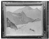 view Landscape with Mountains [art work] / (photographed by Walter Rosenblum) digital asset number 1