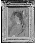 view Violette Heymann [painting] / (photographed by Walter Rosenblum) digital asset number 1