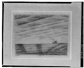 view Marine Mit Bewolktem Himmel [drawing] / (photographed by Walter Rosenblum) digital asset number 1