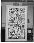 view Flower Arrangement [painting] / (photographed by Walter Rosenblum) digital asset number 1