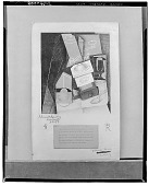 view Coffee Grinder, Cup and Glass on a Table [drawing] / (photographed by Walter Rosenblum) digital asset number 1