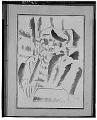 view Portrait of Man with Pipe [drawing] / (photographed by Walter Rosenblum) digital asset number 1