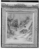 view Winter Landscape with Cottage [art work] / (photographed by Walter Rosenblum) digital asset number 1