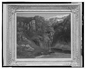 view Landscape with Cliffs [art work] / (photographed by Walter Rosenblum) digital asset number 1
