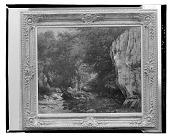 view Le ruisseau du Puits Noir [painting] / (photographed by Walter Rosenblum) digital asset number 1