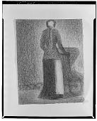 view Nurse with a Child's Carriage [drawing] / (photographed by Walter Rosenblum) digital asset number 1