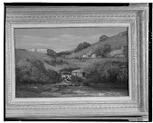 view Paysage pres d'Ornans [painting] / (photographed by Walter Rosenblum) digital asset number 1
