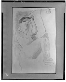 view Child at Rest [drawing] / (photographed by Walter Rosenblum) digital asset number 1