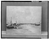 view No Title Given: Dry-Docked Boats, [art work] / (photographed by Walter Rosenblum) digital asset number 1