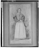 view The Duchessa Morbilli [drawing] / (photographed by Walter Rosenblum) digital asset number 1