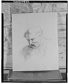 view Head of Old Man [drawing] / (photographed by Walter Rosenblum) digital asset number 1