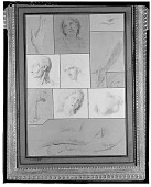 view Group of Sketches [drawing] / (photographed by Walter Rosenblum) digital asset number 1