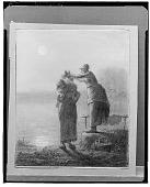 view Washerwomen [drawing] / (photographed by Walter Rosenblum) digital asset number 1