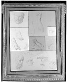view Sketches [drawing] / (photographed by Walter Rosenblum) digital asset number 1