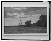 view Dusk [painting] / (photographed by Walter Rosenblum) digital asset number 1