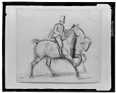 view Cavalier [drawing] / (photographed by Walter Rosenblum) digital asset number 1