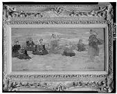 view Pêcheuses assises sur la plage, Berck, [painting] / (photographed by Walter Rosenblum) digital asset number 1