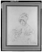view Lady Glenbervie, Geborene, Lady Katherine Anne North [drawing] / (photographed by Walter Rosenblum) digital asset number 1
