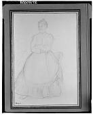 view Portrait of a Woman [drawing] / (photographed by Walter Rosenblum) digital asset number 1