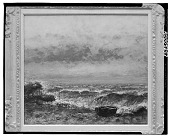 view Beach Scene with a Boat [painting] / (photographed by Walter Rosenblum) digital asset number 1