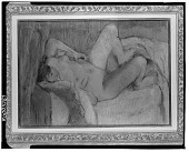 view Femme nue coucheé [painting] / (photographed by Walter Rosenblum) digital asset number 1
