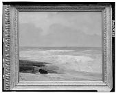 view Seacoast Morning, Low Tide [painting] / (photographed by Walter Rosenblum) digital asset number 1