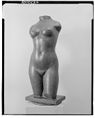 view No Title Given: Nude Female Torso [sculpture] / (photographed by Walter Rosenblum) digital asset number 1