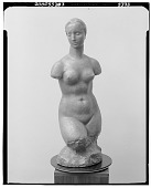view No Title Given: Female Figure [sculpture] / (photographed by Walter Rosenblum) digital asset number 1